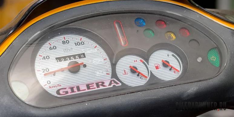 Восстановление приборной панели на Gilera Runner FXR