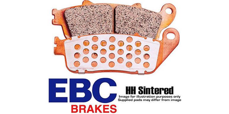 Тормозные колодки EBC SFA HH Series не портят диски!