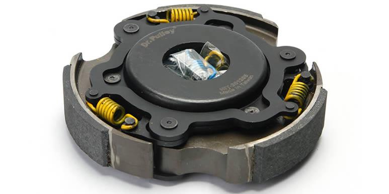 Установка сцепления HiT Clutch и роликов вариатора Dr.Pulley на Piaggio MP3 400cc