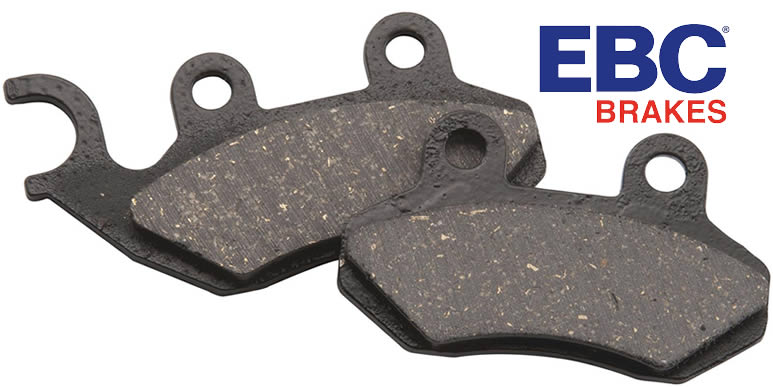 Органические тормозные колодки EBC SFA Series Organic Scooter Pads